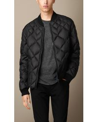 Burberry Multi-quilt Bomber Jacket - Lyst