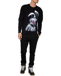 Marc Jacobs Cotton-linen Drawstring Pants black - Lyst