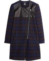 2nd Day Anisha Coat Leather - Lyst