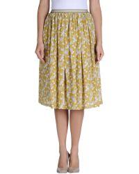 Siyu 3/4 Length Skirt - Lyst
