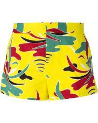 Marni Printed Shorts - Lyst