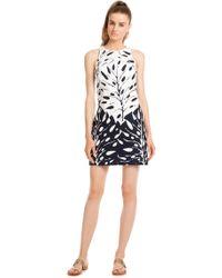 Trina Turk Blue Loma Dress - Lyst