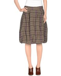 Noa Noa - Knee Length Skirt - Lyst