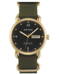 Jack Spade - 'conway' Nylon Strap Watch - Lyst