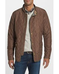 Barbour 'Hatton' Regular Fit Quilt Jacket - Lyst
