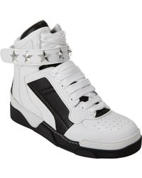 Givenchy High-Top Star Ankle-Strap Sneakers - Lyst