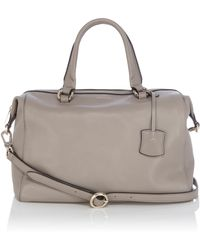 Karen Millen Soft Leather Box Bag - Lyst