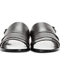 Pierre Hardy | Black Slingback Sandals | Lyst