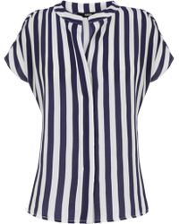 Oasis Relaxed Stripe Shirt - Lyst