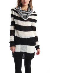 McQ by Alexander McQueen Mohair Sweater Dress - Lyst
