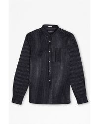 French Connection | Pin Stripe Brosnan Flannel Shirt | Lyst