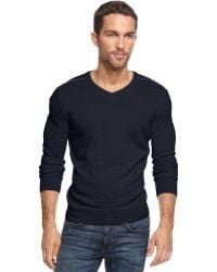 Inc International Concepts Merino Wool-Blend Your Name On It Sweater - Lyst