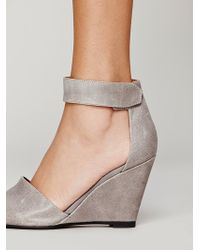 Jeffrey Campbell Womens Peaks Point Wedge - Lyst