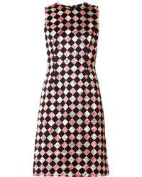 Jonathan Saunders Campion Floral Hazardprint Dress - Lyst
