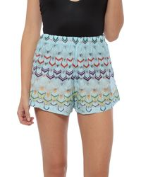 Missoni Printed Shorts multicolor - Lyst