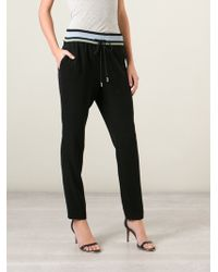 Gucci Striped Waistband Track Pants - Lyst