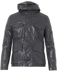 C P Company Oil Skin Hooded Goggle Jacket - Lyst