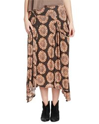 Free People Flip It and Reverse It Printed Skirt - Lyst