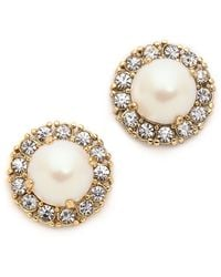 Kate Spade Secret Garden Stud Earrings  - Lyst