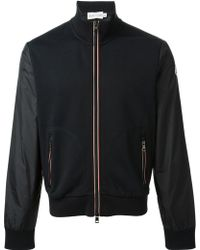 Moncler Two-tone Bomber Jacket - Lyst