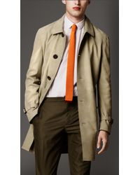 Burberry Suede Car Coat - Lyst