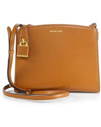 Michael Kors Casey Small Crossbody Bag - Lyst