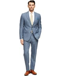 Brooks Brothers Regent Fit Own Make Suit - Lyst