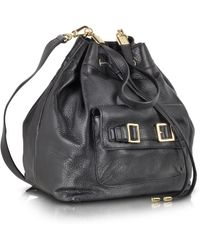 Juicy Couture - Robertson Black Leather Backpack - Lyst