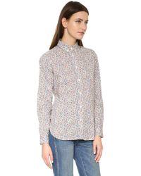 Penfield - Eckert Floral Print Shirt - Lyst