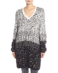 Trouvé | Long V-neck Sweater | Lyst