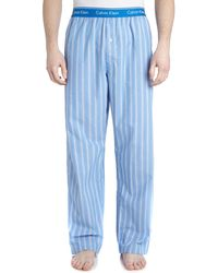 Calvin Klein Optical Stripe Pant - Lyst
