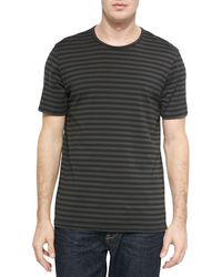 Rag & Bone Striped Flame Jersey T-Shirt - Lyst