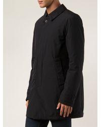 Herno Black Oversized Coat - Lyst