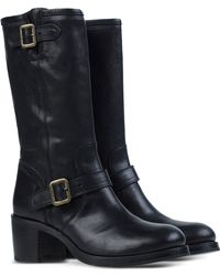 Fiorentini + Baker | Buckled Leather Boots | Lyst