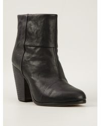 Rag & Bone Heeled Ankle Boots - Lyst