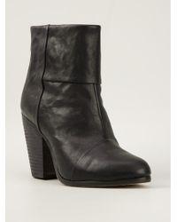 Rag & Bone Heeled Ankle Boots blue - Lyst