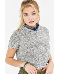 Ecote - Mahalo Cropped Hooded Top - Lyst