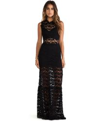 Nightcap Dixie Lace Cutout Maxi Dress - Lyst