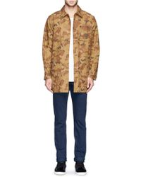 FDMTL - X Jam Home Made Camouflage Cotton Coat - Lyst