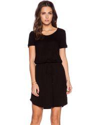 Splendid Short Sleeve Dress - Lyst