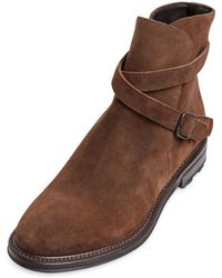 Fratelli Rossetti Suede Ankle Boots - Lyst