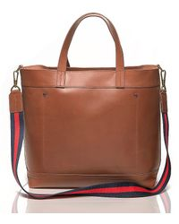 Tommy Hilfiger Classic Leather Tote - Lyst