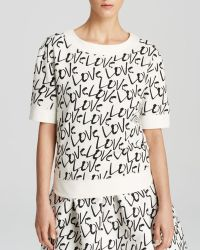 Kate Spade Love Pullover - Lyst