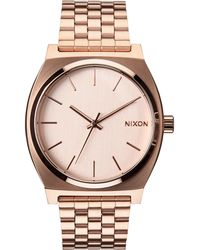 Nixon | Time Teller Stainless Steel Watch | Lyst