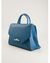 Givenchy Blue Obsedia Tote - Lyst