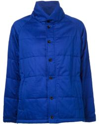 Golden Goose Deluxe Brand Blue Padded Jacket - Lyst