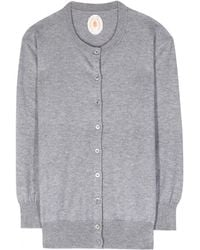 Jardin Des Orangers Cotton and Cashmere-Blend Cardigan - Lyst