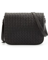 Bottega Veneta Small Curved Crossbody Bag - Lyst