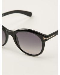 Tom Ford Riley Sunglasses - Lyst