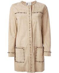 Lanvin Studded Coat - Lyst